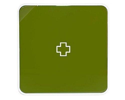 Ящик для лекарств BYLINE матовый оливковый
