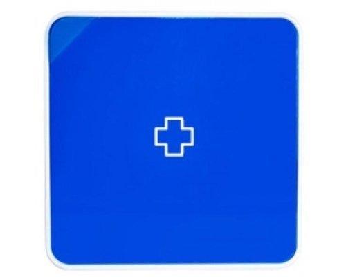 Ящик для лекарств BYLINE матовый синий