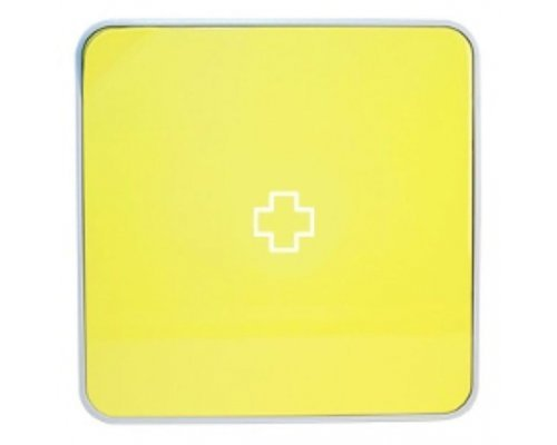 Ящик для лекарств BYLINE матовый желтый