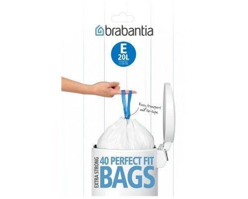 Пакет пластиковый Brabantia 20л 40шт
