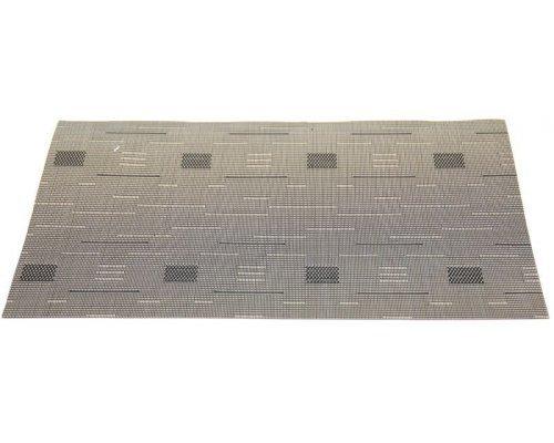 Подставка под горячее Hans & Gretchen полимер 30*40см темно-серые квадраты