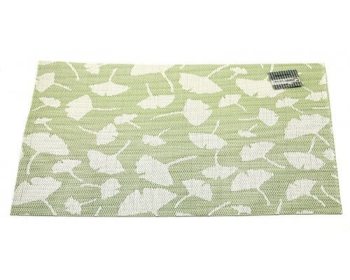 Подставка под горячее Hans & Gretchen полимер 30*40см зеленые пушинки