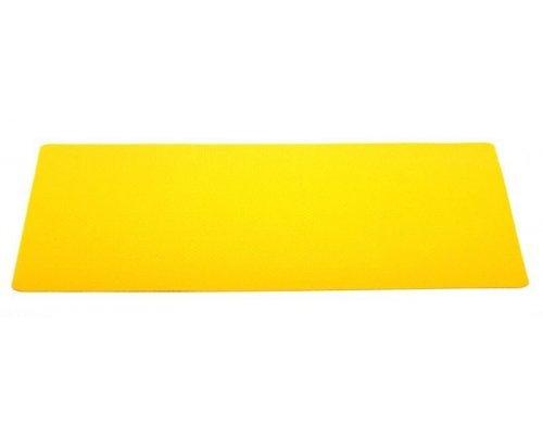 Подставка под горячее Hans & Gretchen желтая полимер 28,5х43,5см