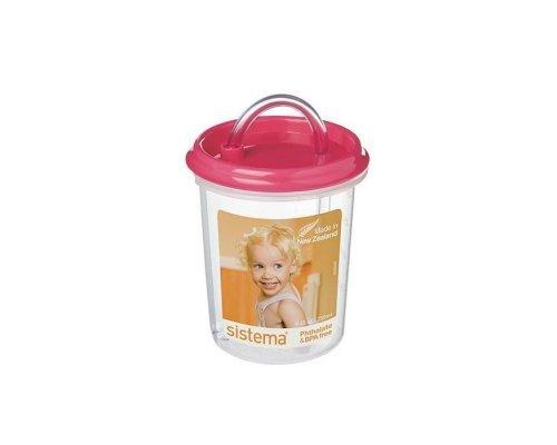 Детская чашка с трубочкой Sistema 250мл
