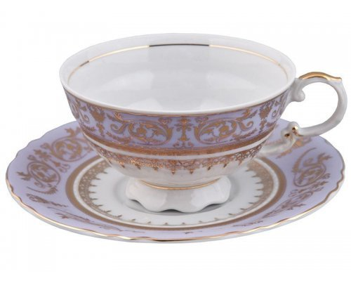 Чашка низкая с блюдцем 0,20л Rudolf Kampf Национальные Традиции 238А в подарочном коробе