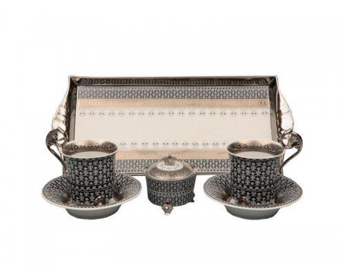 Подарочный набор чайный Тет-а-тет Rudolf Kampf Национальные Традици 2115 в подарочном коробе