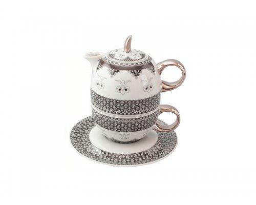 Восточный чайный набор Rudolf Kampf Национальные Традици 2115 линия Сирия (чайник 0,4+чашка 0,2) в подарочном коробе