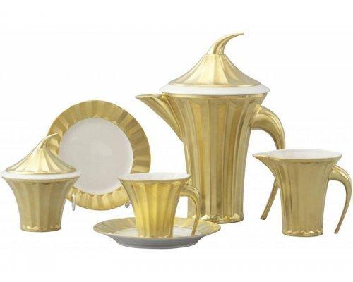 Сервиз чайный Rudolf Kampf Древний Египет 2012 на 6 персон 15 предметов в подарочном коробе