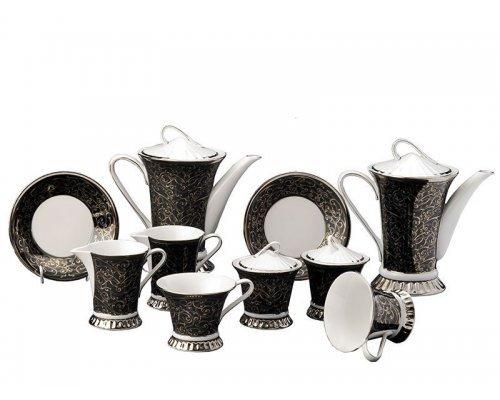 Сервиз чайный Rudolf Kampf Византия 2243 на 6 персон 15 предметов в подарочном коробе
