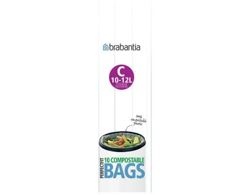 Пакет пластиковый биоразлагаемый Brabantia C 10-12л 10шт
