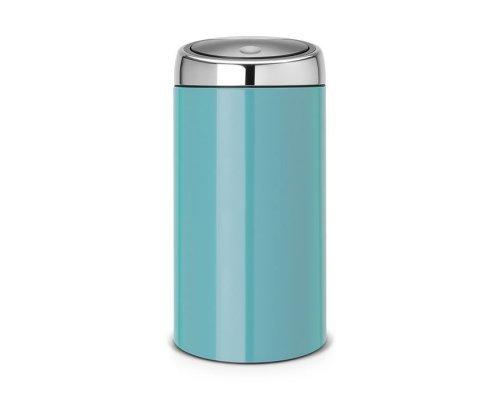 Мусорный бак Brabantia Touch Bin (45л), Лазурно–синий