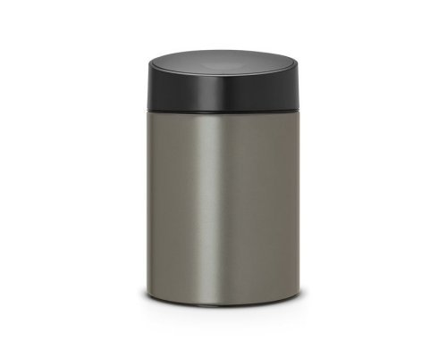 Ведро для мусора с крышкой Brabantia SLIDE (5л)