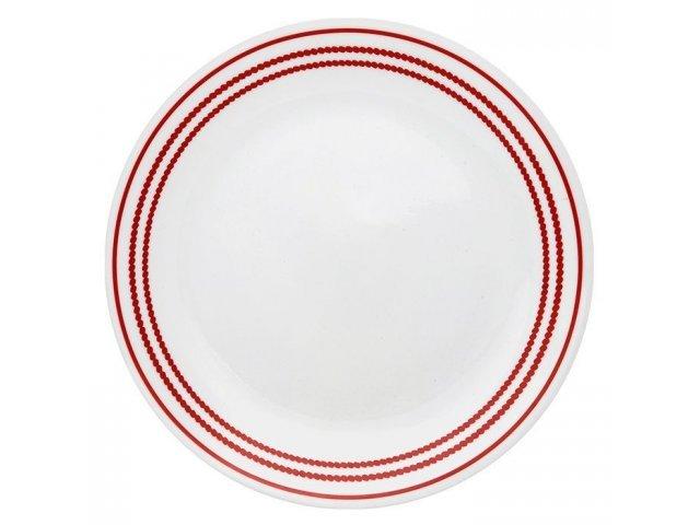 Тарелка обеденная 26см Corelle Ruby Red