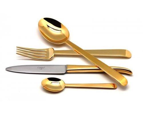 Набор столовых приборов Cutipol ERGO GOLD на 6 персон 24 предмета