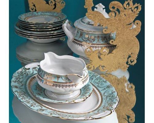 Сервиз столовый Rudolf Kampf Национальные Традиции 238В на 6 персон 25 предметов в подарочном коробе