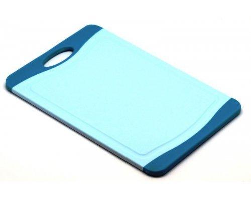 Кухонная доска Microban FLUTTO 37*25см Голубой