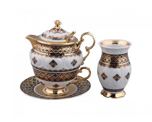 Подарочный набор чайный Rudolf Kampf Национальные Традиции 2075 на 1персону 6 предметов в подарочном коробе