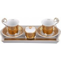 Подарочный набор чайный Rudolf Kampf Тет-а-тет С859 на 2персоны в подарочном коробе