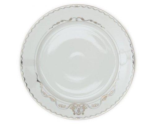 Блюдо круглое 30см Rudolf Kampf Роза и Ленты 2275 в подарочном коробе
