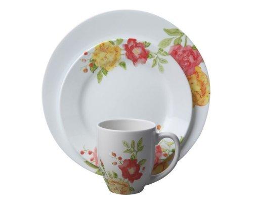 Набор посуды столовый сервиз Corelle Emma Jane на 4 персоны 16 предметов