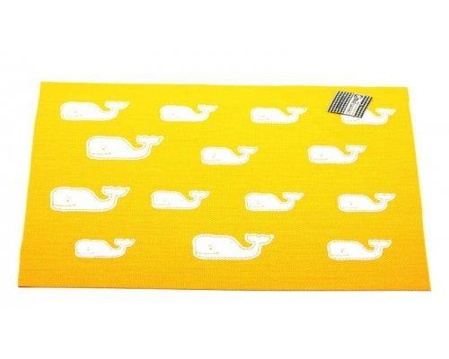 Подставка под горячее Hans & Gretchen полимер 30*40см желтая киты