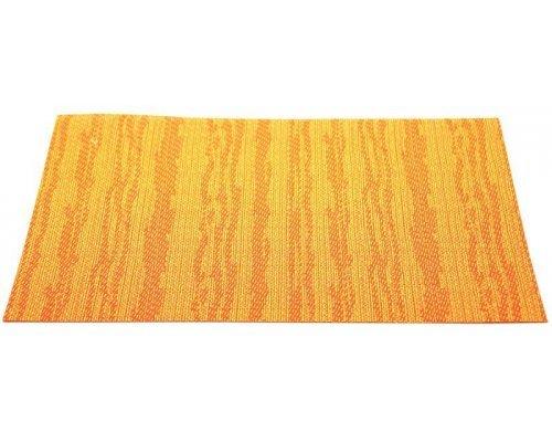Подставка под горячее Hans & Gretchen полимер 30*40см оранжевые полосы