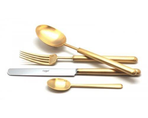 Набор столовых приборов Cutipol BALI GOLD мат. на 12 персон 72 предмета