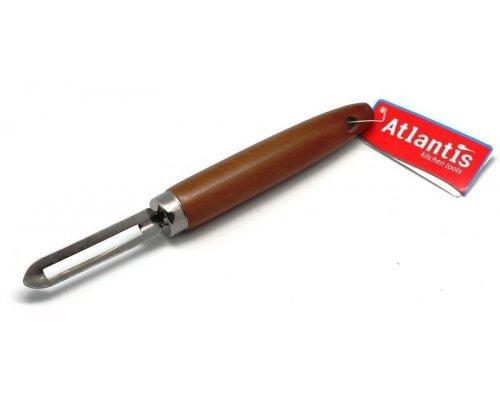 Нож для чистки Atlantis дерево-металл
