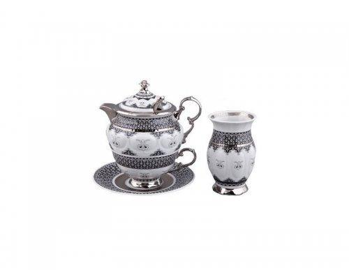 Подарочный чайный набор Rudolf Kampf Национальные Традици 2115 на 1 персону 6 предметов в подарочном коробе
