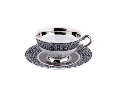 Чашка низкая с блюдцем 0,20л Rudolf Kampf Национальные Традици 2115