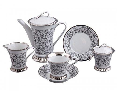 Сервиз чайный Rudolf Kampf Византия C936 на 6 персон 15 предметов