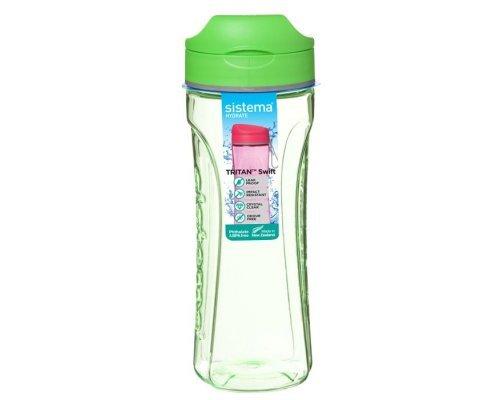 Бутылка для воды Sistema тритан 600мл