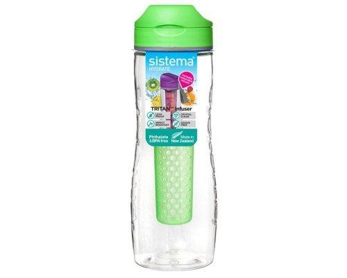 Бутылка для воды Sistema тритан 800мл
