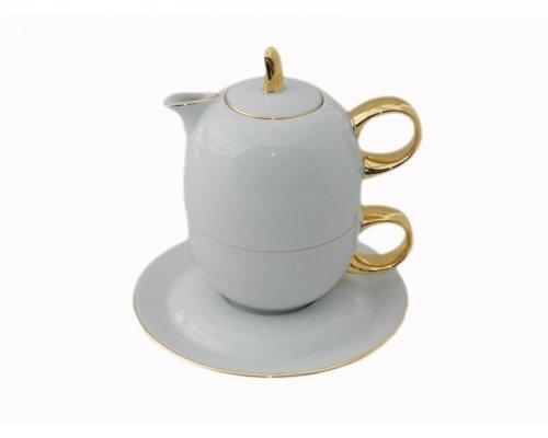 Восточный чайный набор Rudolf Kampf Дуо 2566 (чайник 0,4 + чашка 0,2)