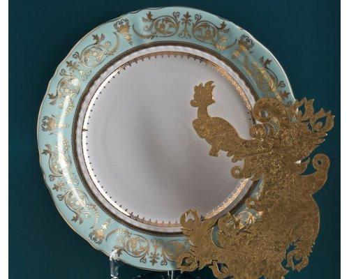 Блюдо круглое мелкое 32см Rudolf Kampf Национальные Традиции 238В