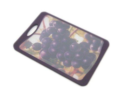 Кухонная доска Microban FLUTTO 20*14см Фиолетовый виноград