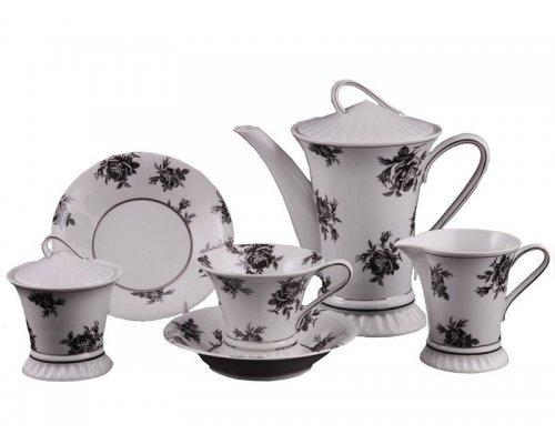Сервиз чайный Rudolf Kampf Византия 2201 на 6 персон 15 предметов в подарочном коробе
