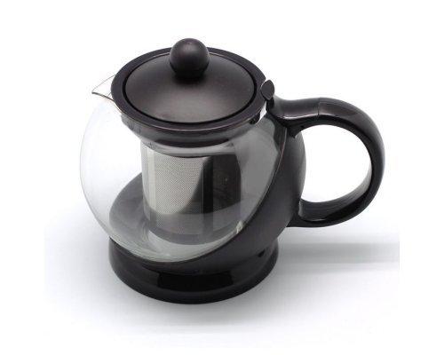 Чайник заварочный с фильтром черный Hans & Gretchen 0.75 л