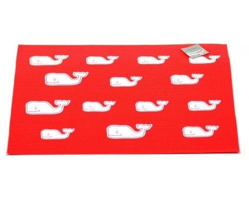 Подставка под горячее Hans & Gretchen полимер 30*40см красная киты