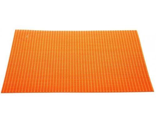 Подставка под горячее Hans & Gretchen 28HZ-7274 полимер 30*40см оранжевые полосы