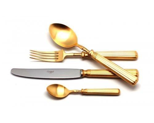 Набор столовых приборов Cutipol LINE GOLD мат. на 12 персон 72 предмета