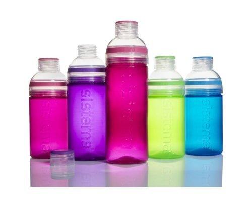 Питьевая бутылка Sistema Трио 480мл