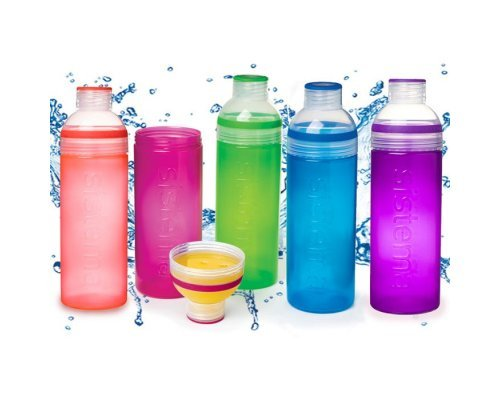 Питьевая бутылка Sistema Трио 700мл