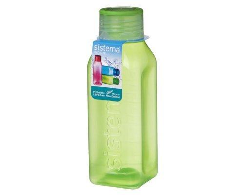 Бутылка квадратная Sistema 475мл
