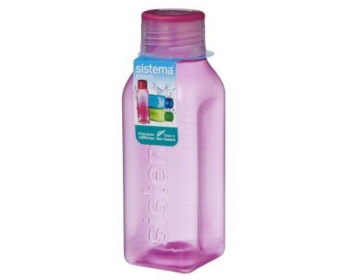Бутылка квадратная Sistema 725мл