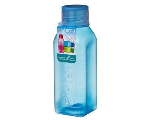 Бутылка квадратная Sistema 1л