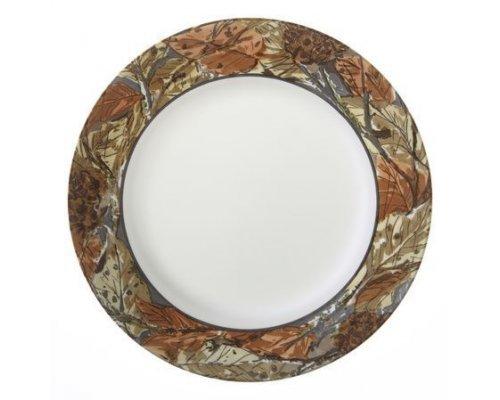 Тарелка обеденная 27см Corelle Woodland Leaves