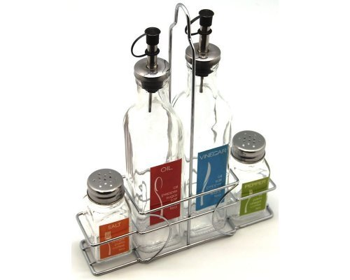 Набор для масла и уксуса Hans & Gretchen на подставке