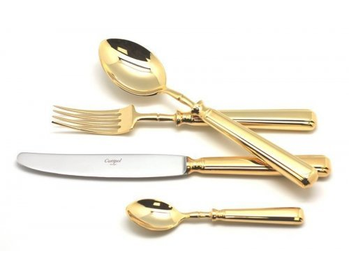 Набор столовых приборов Cutipol PICCADILLY GOLD на 6 персон 24 предмета