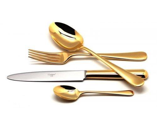 Набор столовых приборов Cutipol ATLANTICO GOLD на 6 персон 24 предмета